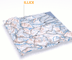 3d view of Illice