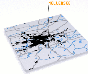 3d view of Mellensee