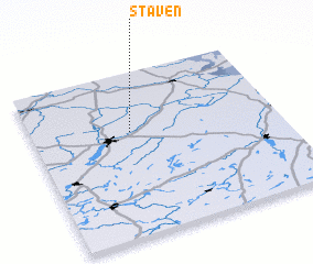 3d view of Staven