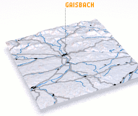 3d view of Gaisbach