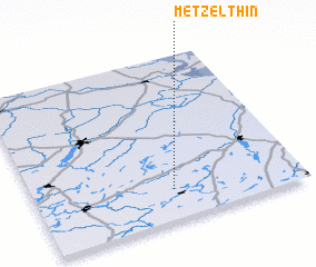 3d view of Metzelthin