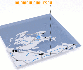 3d view of Kolonie Klein Kiesow