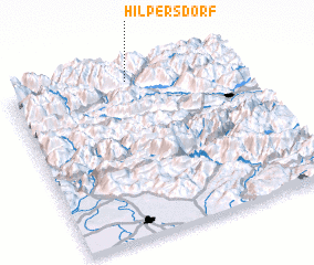 3d view of Hilpersdorf