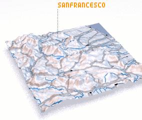 3d view of San Francesco