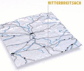 3d view of Mitterbreitsach