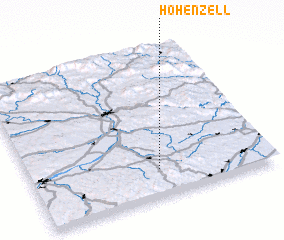3d view of Hohenzell