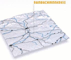 3d view of Rainbach im Innkreis