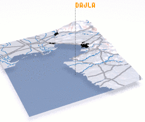 3d view of Dajla