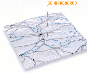 3d view of Schwabengrub