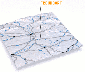 3d view of Freundorf