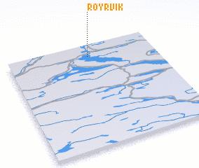 3d view of Røyrvik
