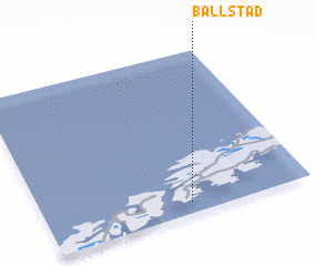 3d view of Ballstad