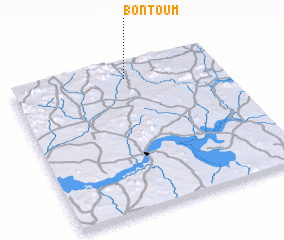 3d view of Bontoum