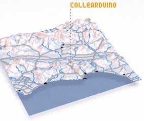 3d view of Colle Arduino