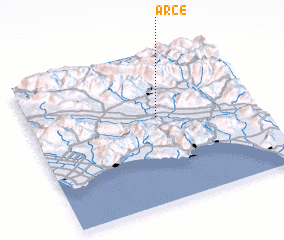 3d view of Arce