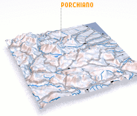 3d view of Porchiano