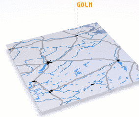 3d view of Golm