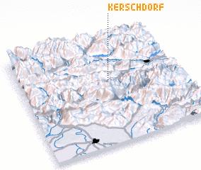3d view of Kerschdorf