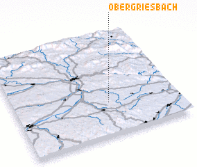 3d view of Obergriesbach