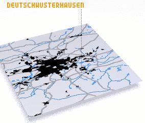 3d view of Deutsch Wusterhausen