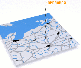 3d view of Hornborga