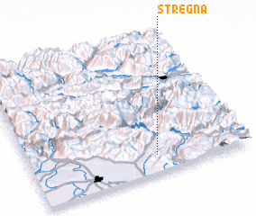 3d view of Stregna