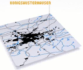 3d view of Königs Wusterhausen