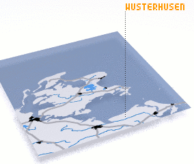 3d view of Wusterhusen