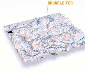 3d view of Brunnleiten