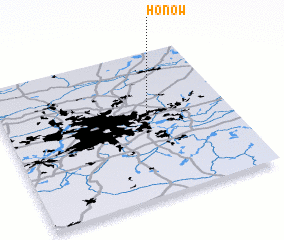 3d view of Hönow