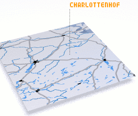 3d view of Charlottenhof