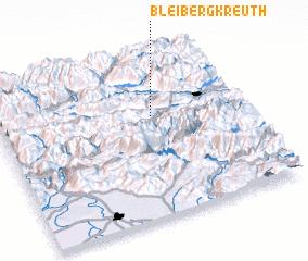 3d view of Bleiberg-Kreuth