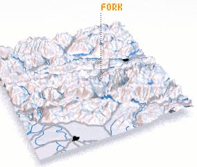 3d view of Förk
