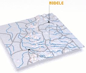 3d view of Modélé