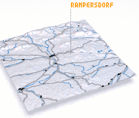3d view of Rampersdorf