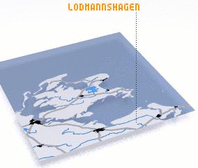 3d view of Lodmannshagen