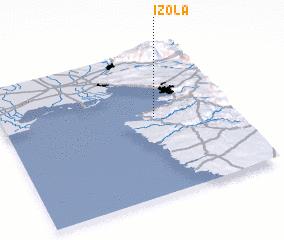 3d view of Izola