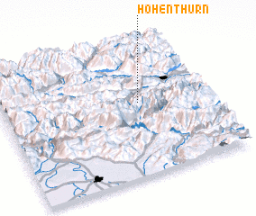 3d view of Hohenthurn