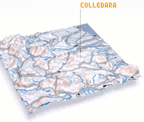 3d view of Colledara