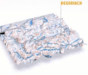 3d view of Begöriach
