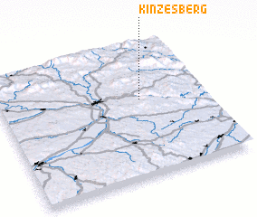 3d view of Kinzesberg