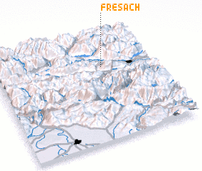 3d view of Fresach