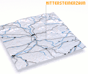 3d view of Mittersteinerzaun