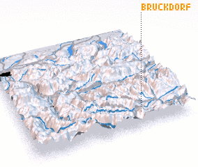 3d view of Bruckdorf