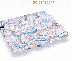 3d view of Voidersdorf