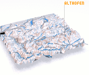3d view of Althofen