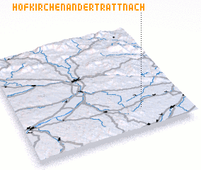 3d view of Hofkirchen an der Trattnach