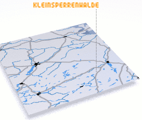 3d view of Klein Sperrenwalde
