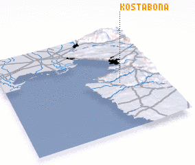 3d view of Koštabona