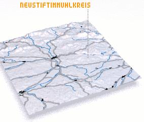 3d view of Neustift im Mühlkreis